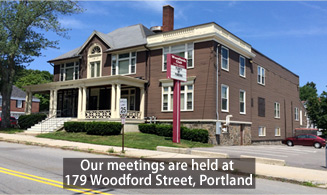 PCC meeting hall-The Woodfords Club
